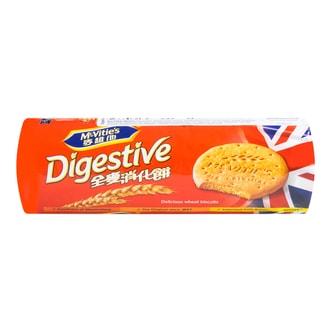 英国MCVITIES麦维他 全麦消化饼干 400g