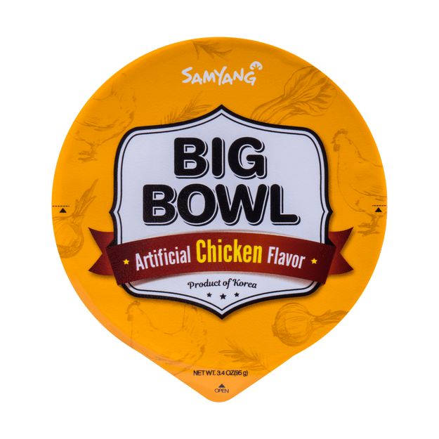 Product Detail - SAMYANG BIG BOWL Noodle Chicken Flavor 95g - image 0