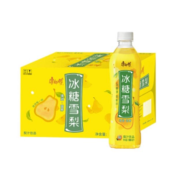 商品详情 - 康师傅 冰糖雪梨 1箱 15瓶 - image  0