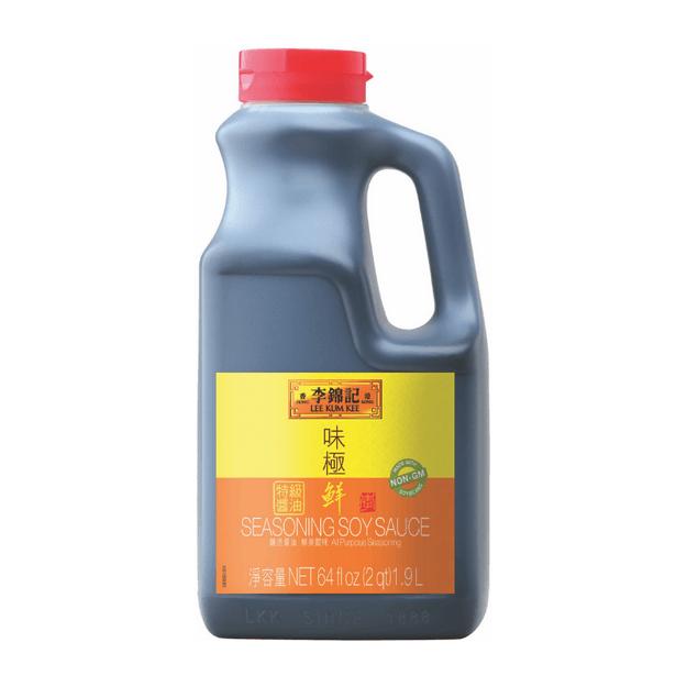 商品详情 - 李锦记 味极鲜特级酱油 1.9L - image  0