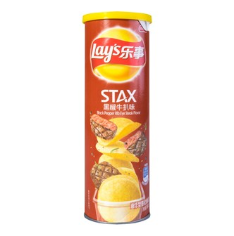 Lay's Potato Chips Black Pepper 104g