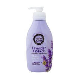 HAPPY BATH Body Wash Natural Lavender Essence 500g