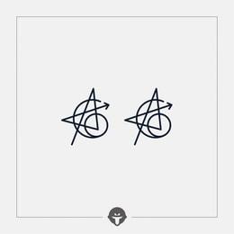 @BECOME Original Tattoo Stickers Tenth Anniversary Tattoo of Avenger Alliance Three Piece
