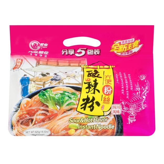 Product Detail - GUANGYOU Sour Hot Flavor Instant Vermicelli 5pc 525g - image 0