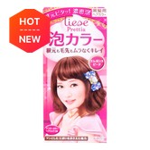 日本KAO花王 LIESE PRETTIA 泡沫染发剂 #Elegance Peach优雅桃色 1組入 COSME大赏第一位
