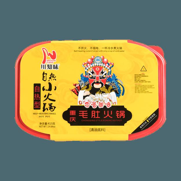 Product Detail - SZECHUAN FLAVOR Self-Heating Small Hot Pot Chongqing Style Konjac Hot Pot 415g - image 0
