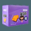 【新装加量版】嘎嘎嘴 鱼豆腐 烧烤味 22g×30包入