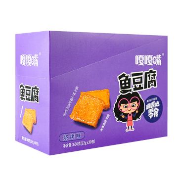 Fish Tofu BBQ Flavor 22g*30pc