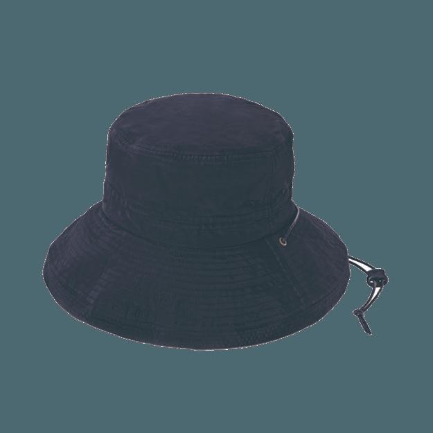 商品详情 - COGIT||PRECIOUS UV 防水遮阳户外防晒帽||黑色 头围56-58cm - image  0