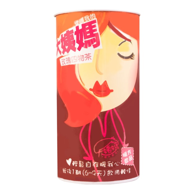 DAYIMATEA Rose Four Herbs Healthy Tea For Periods