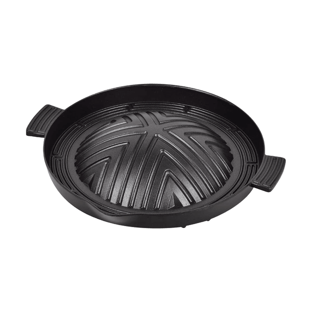 Product Detail - Japan Round Barbecue Yakiniku Grill for Stove HB-3555 340X295X60mm - image  0