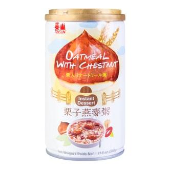 台湾泰山 栗子燕麦粥  330g