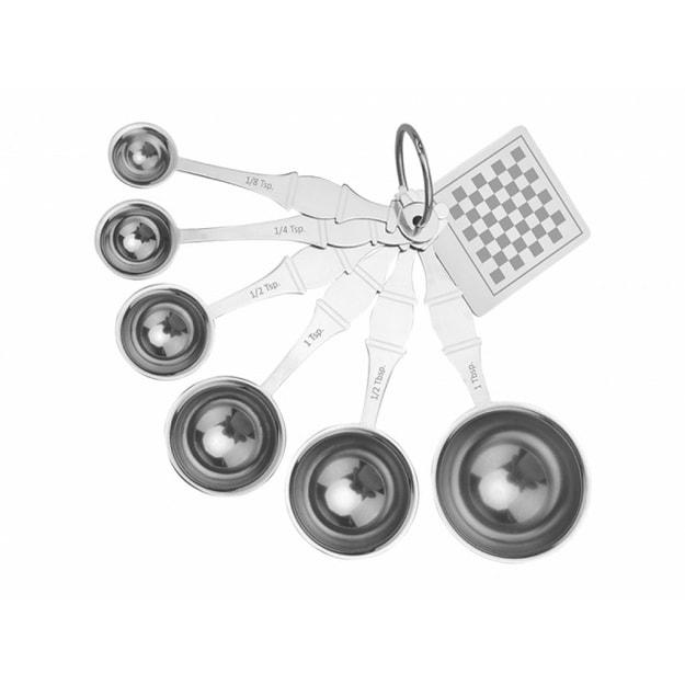 商品详情 - 【香港品牌】煮角不锈钢量勺(国际象棋) 1件入 - image  0