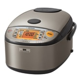 ZOJIRUSHI Induction Heating System Rice Cooker and Warmer 1L Stainless Dark Gray NP-HCC10