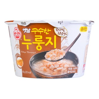 韩国OTTOGI不倒翁 韩式传统美味速食锅巴泡饭 60g