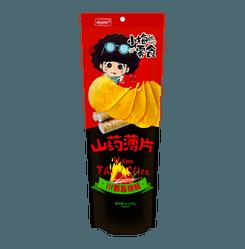 AIYOMI Yum Chips Sichuan Spicy Flavor 90g
