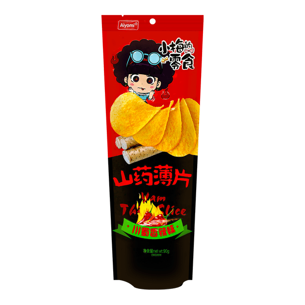 Product Detail - AIYOMI Yum Chips Sichuan Spicy Flavor 90g - image 0