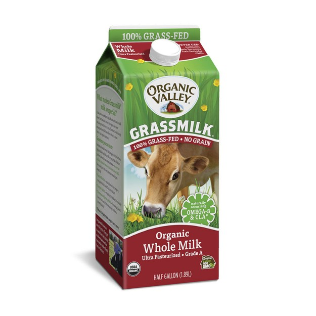 商品详情 - Organic Valley 全脂有机牛奶 1/2 Gallon - image  0