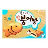 韩国ORION好丽友 打糕鱼红豆糯米巧克力鱼饼 174g