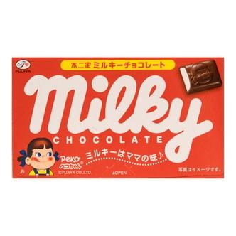 日本FUJIYA不二家 牛奶巧克力 12粒入 41g