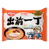 NISSIN Demae Ramen Noodle with Soup Base Miso Tonkotsu Pork Flavor 100g