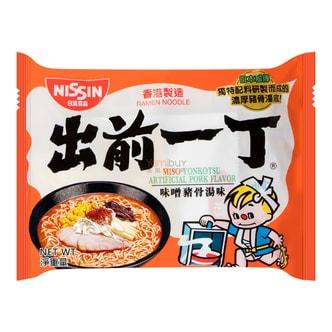 日本NISSIN日清 出前一丁 即食汤面 味噌猪骨汤味 100g