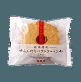 [日本直邮] TAIYO FOODS 太阳食品 低温烘焙蓬松年轮蛋糕 牛奶口味 1个