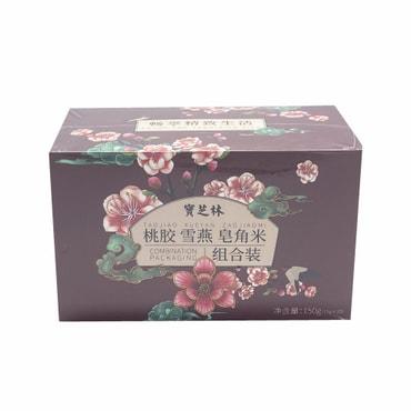 宝芝林 桃胶 雪燕 皂角米 组合装 150克