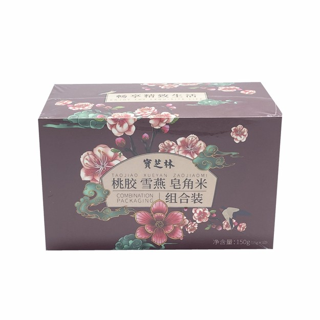 商品详情 - 宝芝林 桃胶 雪燕 皂角米 组合装 150克 - image  0