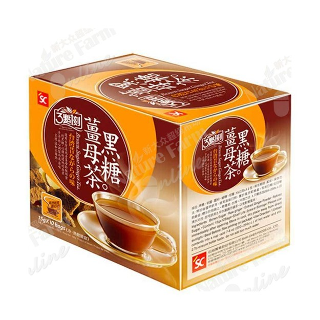 商品详情 - 3点一刻姜母黑糖茶  10 Bags 5.3 Oz (150 g) - image  0