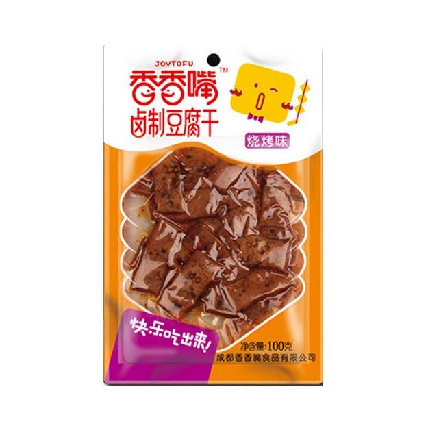 商品详情 - 香香嘴 卤制豆腐干 烧烤味 100g 四川特色零食  - image  0