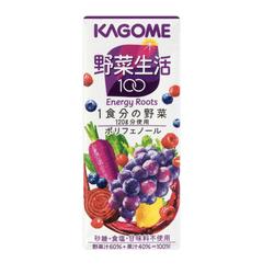 DHL直发【日本直邮】日本KAGOME 野菜生活 抗氧化美颜紫色蔬果汁 200g