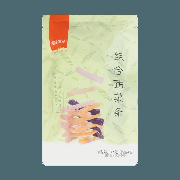 商品详情 - 良品铺子  综合蔬菜条 4包入 72g - image  0