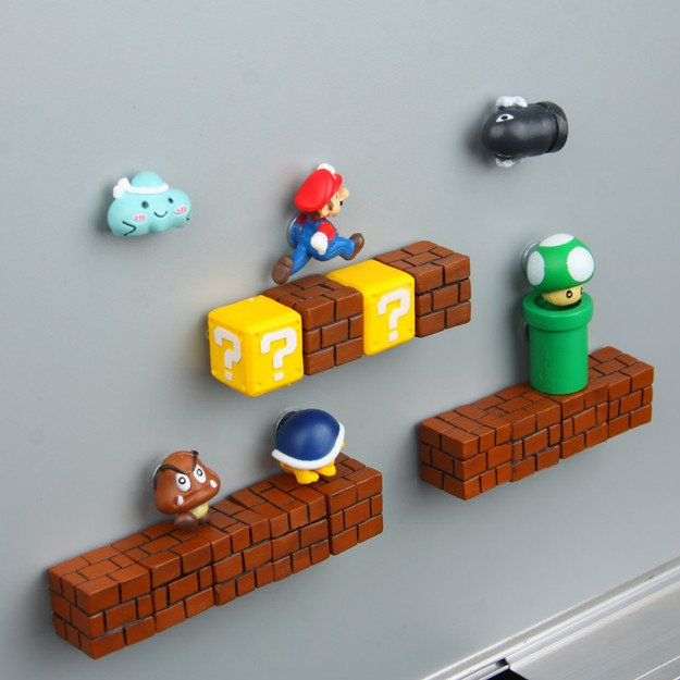 Product Detail - YINGNI Cartoons Super Mario Refrigerator magnet - image 0
