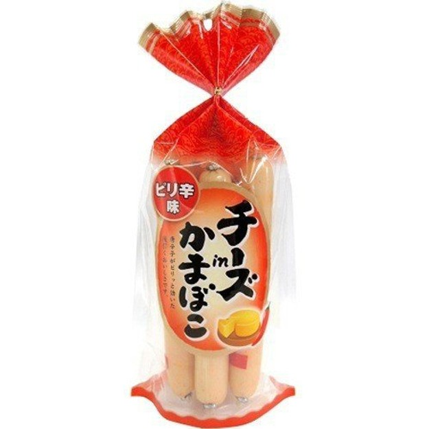 Product Detail - JAPAN NATORI MEIHOKU CHEESE Ham Sausage 256g - image 0