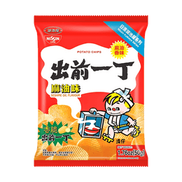 NISSIN Demae Iccho Potato Chips Sesame Oil Flavor 50g