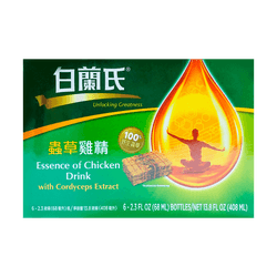 BRAND'S Essence of Chicken With Cordyceps Drink 6*68ml