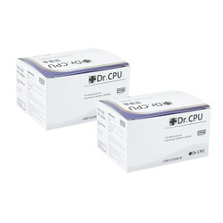 [Two Boxes Combo] DR.CPU Alcohol Pad with 70% Alcohol 100pcs x 2 boxes