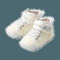 MIKIHOUSE  简约可爱带迷你蝴蝶结一段婴儿鞋  白色 13cm