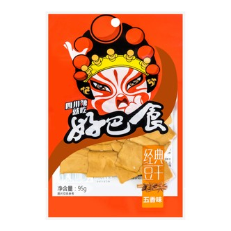 徽记 好巴食 经典豆腐干 五香味 95g