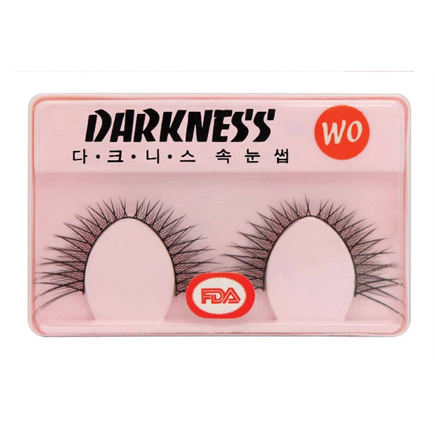 Product Detail - DARKNESS False Eyelashes #WO 2Pair In 1Box - image 0