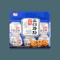 韩国海太 香脆大麦圆米饼 健康美味大麦零食 300g