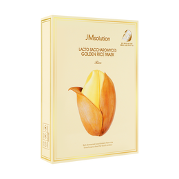 韩国JMSOLUTION 酵母乳黄金米面膜 大米版 10片入