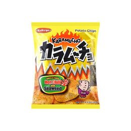 Spicy Seaweed Chips 57g