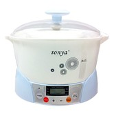 SONYA Slow Cooker with 3 Ceramic Jugs 2.2L SDZ-12T3 (Delay Timer Included)
