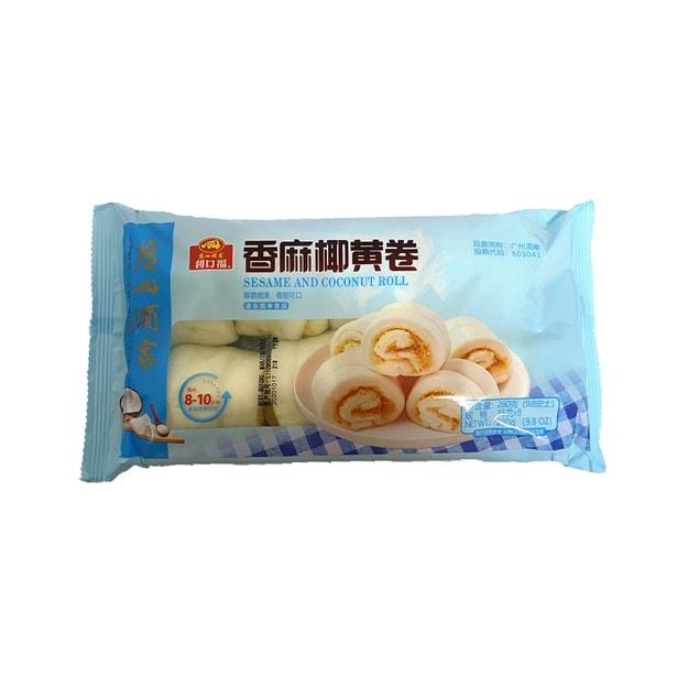 商品详情 - 利口福 香麻椰黄卷 9.8盎司 - image  0