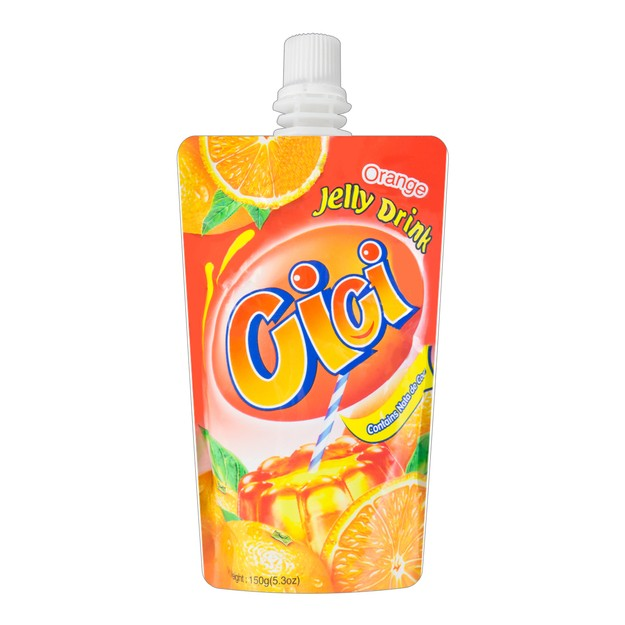 Product Detail - CICI Jelly Drink Orange Flavor 150g - image 0