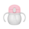 THERMOS 膳魔师||宝宝用双把手吸管水杯 NPF-250||粉色 250ml