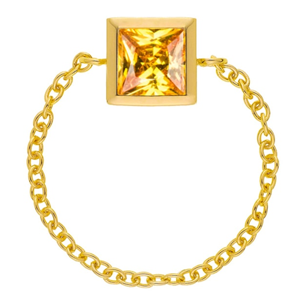 Product Detail - DE YEEN Single Color Ring #Yellow 1pc - image 0