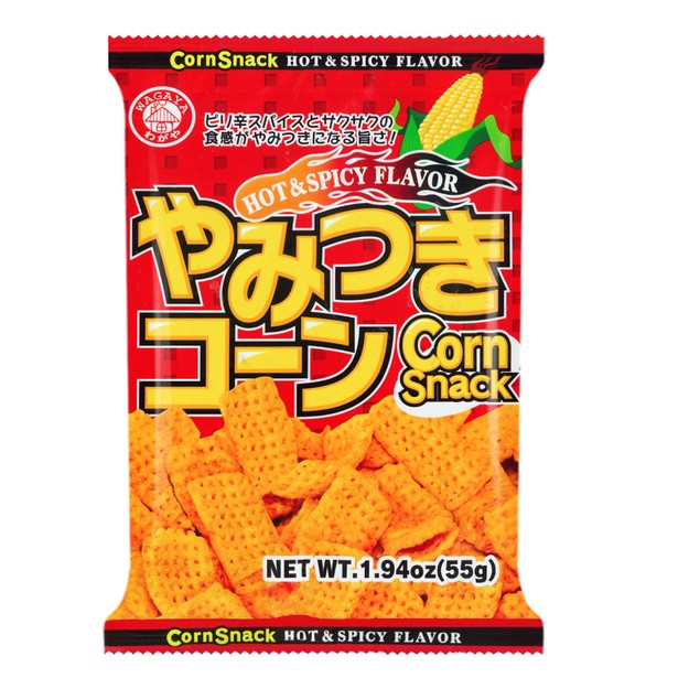 Product Detail - WAGAYA Corn Snack Spicy Flavor 55g - image 0